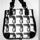 ELVIS PRESLEY BLACK & WHITE PHOTO HANDBAG/PURSE EXPANDABLE!! LAST ONE!  NWT!