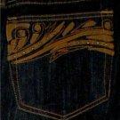 VENEZIA DARK BLUE JEANS WOMAN/MISSES SIZE 22 STRETCH STYLISH POCKETS 99% COTTON