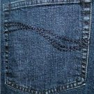 "DENIM & CO. BLUE JEANS SIZE 24WP 29"" INSEAM CLASSIC 5-POCKET STYLE STRETCH"