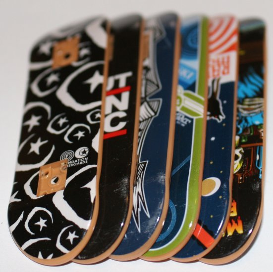 random tech deck fingerboard (deck only)