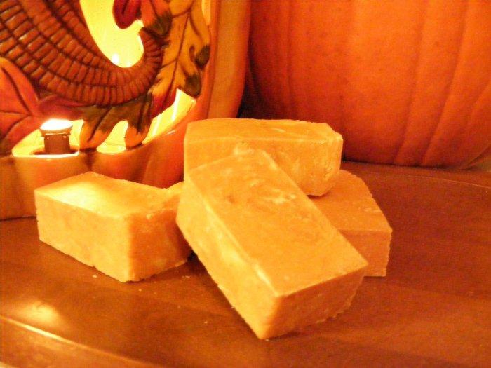 Pumpkin Spice Soap cake