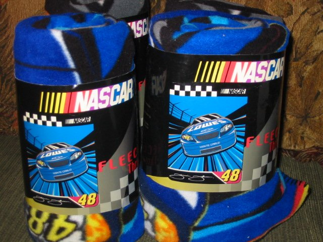 Nascar Racing Fleece Throw