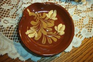 Eldreth Pottery Redware spoon rest