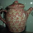 Henn Workshops rose sponged quiet time collectors society teapot
