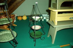Henn Workshops wrought iron mini Christmas Tree Stand