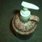 Henn Workshops rose sponged soap/lotion dispenser