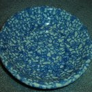 Henn Workshops blue sponged  museum bowl