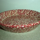 Henn Workshops cranberry sponged small pasta harvest bowls set of 2