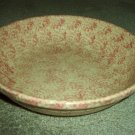 "Henn Workshops rose sponged large 13 1/4"" pasta/harvest bowl"