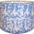 Henn Workshops blue sponged condiment cup