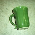 Henn Workshops emerald green petal mugs set of 2