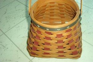 Henn Workshops 2004 old glory stars & stripes amish egg gathering  basket