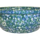 Henn Workshops double blue/green sponged porridge bowl