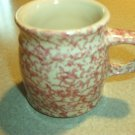 Henn Workshops rose sponged classic mug