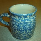 Henn Workshops blue sponged classic mug