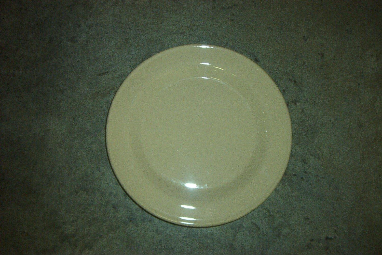 Henn Workshops cream dinner plates set of 4 - used