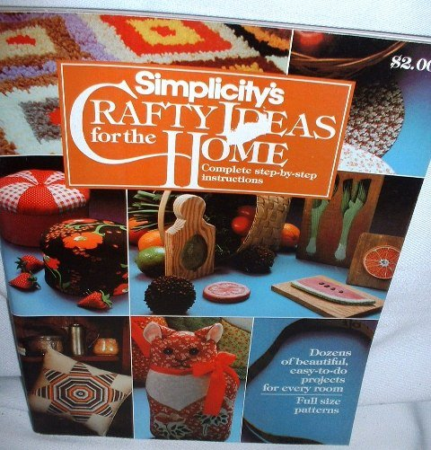 Vintage Simplicitys Crafty Ideas for the Home Magazine Book