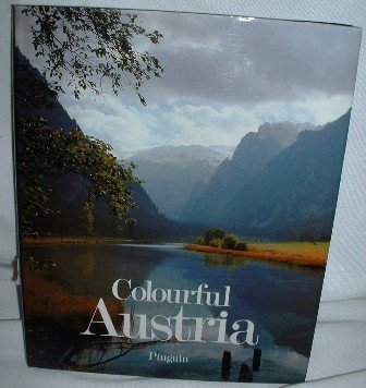Vintage 1977 Colourful Austria Book Pinguin Intro by Heinz Scheibenflug Hardcover Nonfiction