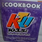 2001 KTU 103.5 NY Radio Celebrities Spiral Bound Cookbook 1st Edition
