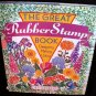 The Great Rubber Stamp Book by Dee Gruenig 1996 Hardcover Crafts