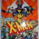 A Look and Find Activity Book X-Men Hardcover 1992 James Janes