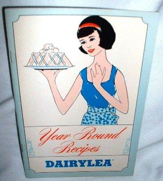 Dairylea Dairy Milk Vintage Year Round Recipes Booklet