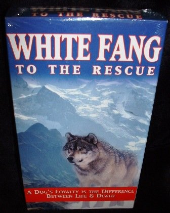 White Fang to the Rescue VHS PG Mint Factory Sealed Henry Silva