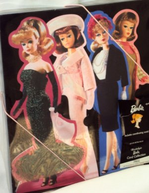 Barbie Doll Hallmark Nostalgic Greeting Card Collection Dated 2003