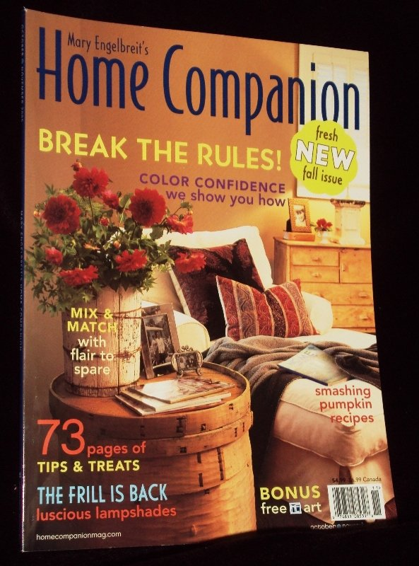 Mary Engelbreit's Home Companion Magazine 2005 Back Issue