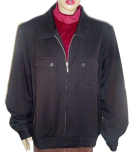 TRAVELSMITH TRAVEL SMITH  Black Indispensable Short Jacket SZ XL(18-20) NWT