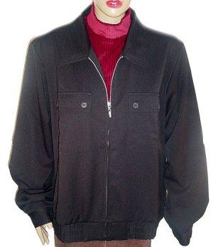 TRAVELSMITH TRAVEL SMITH  Black Indispensable Short Jacket SZ XL(18-20) NWT