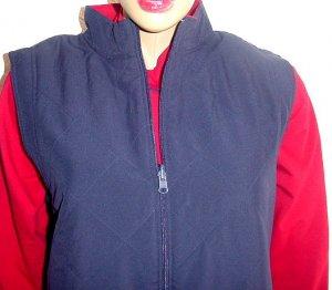 SPORT SAVVY Reversible Microfiber Vest & Shirt SZ 1X