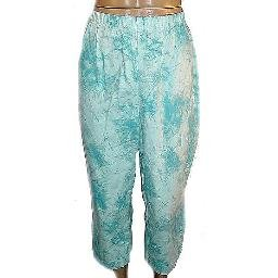 DENIM AND COMPANY Tye Die Capri Leggings SZ 1X