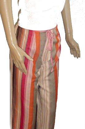 RANDOLPH DUKE Silk Capri Pants SZ 8 NWT