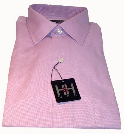 Hilliard and Hanson Men's Long Sleeve Dress Shirt SZ 17-17 1/2  NEW