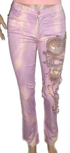 AZI Embellished Wash Jeans NWT SZ 2