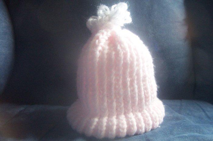 Handmade Crochet Girl's Hat