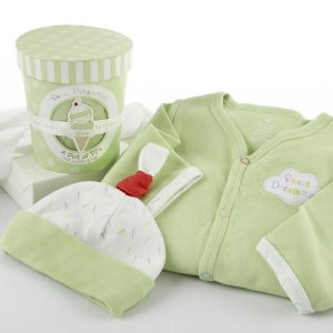 """Sweet Dreamzzz"" A Pint of PJ's Sleep Time Gift Set, Lime"