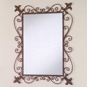 Fleur de Lis Mirror