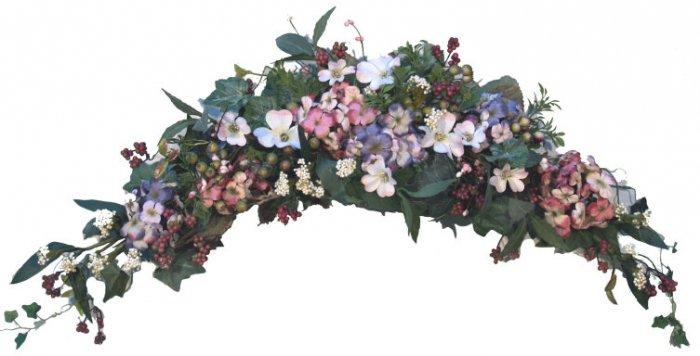 Hydrangea Dogwood Arch