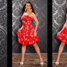 CELEB RED COCKTAIL DRESS
