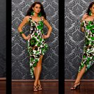new greencelebrity sexy clubdress/evening/cocktail gown