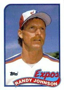 1989 Topps Randy Johnson Rookie Card #647
