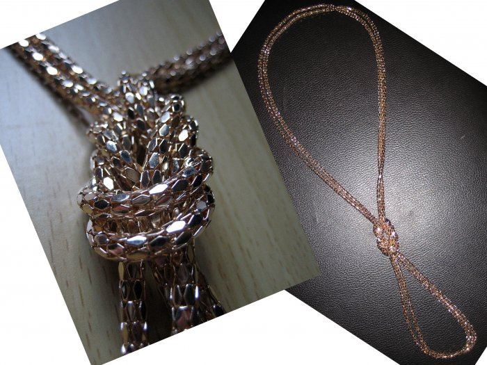 Multi Long Tier Layered Chain Necklace-GOLD (FREE Shipping)