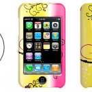 Hard Plastic Case with Flower Pattern for IPod Touch 2nd Generation (Free Shipping to Worldwide)