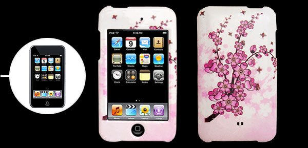 Plum Blossom Plastic Back Case Cover for iPod Touch 2nd Generation�Free Shipping to Worldwide�
