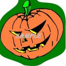 Evil Jacko Lantern Halloween Die Cut Window Prop