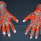 Severed & Chard Hands Halloween Haunted House Prop Props