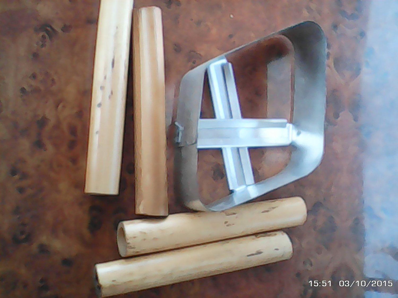 heavy duty cutter & CANNOLI forms