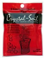 Crystal Soil Red Cube Shape 8gm